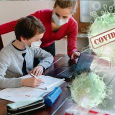 ONLAJN NASTAVA JE SVE BLIŽA: Situacija u srpskim školama zabrinjava, sve je više zaraženih, neki uveliko uče od kuće