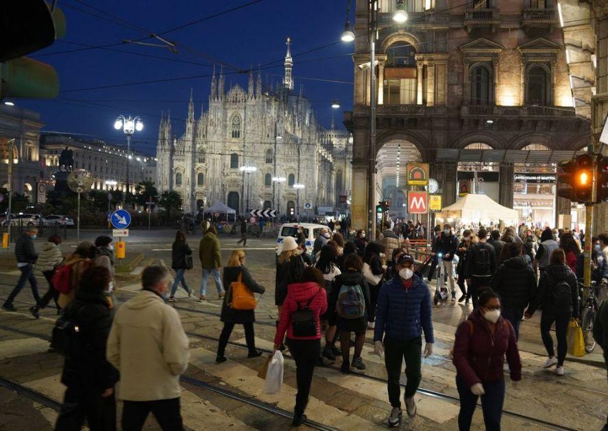 OPADA BROJ OBOLELIH OD KORONE U ITALIJI: Mere daju razultate, veruje se da će se broj zaraženih prepoloviti do Božića