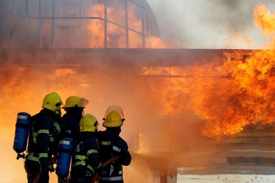 OPASNO! Novi požar u Iranu, u naftnom postrojenju zbog curenja goriva!