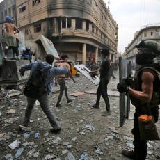 OPŠTE RASULO U BAGDADU: Obračun policije i demonstranata, povređeni na sve strane!