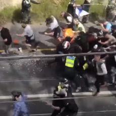OPŠTI HAOS U MELBURNU! Građani u sukobu sa policijom zbog korona mera - uhapšeno više od 200 ljudi (VIDEO)