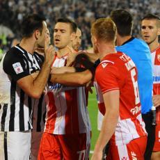 OPTUŽILI GA DA JE SIMULIRAO NA KRAJU DERBIJA, PA MU PRETILI Fudbaler Partizana se oglasio: Čemu tolika MRŽNJA?