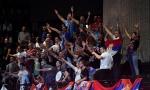 ORILO SE U PARIZU - KOSOVO JE SRCE SRBIJE: Nekoliko stotina naših navijača nadjačali Francuze