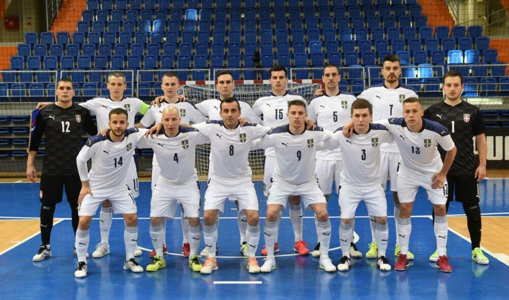 OSIGURAN BARAŽ ZA ORLOVE: Futsaleri Srbije u Zenici savladali Bosnu i Hercegovinu