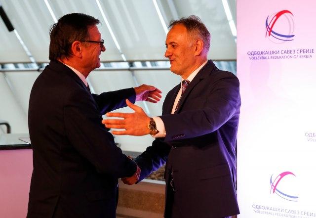 OSS podržao kandidaturu Boričića za još jedan mandat na čelu CEV