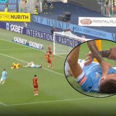 OSTAO DA LEŽI: Sergej protiv Rome postigao GOLČINU, ali veoma je zabrinuo svoje navijače (VIDEO)