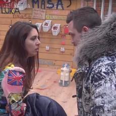 OSTAVILA SAM TE KAO G*VNO! Bane i Ivana u mučnoj raspravi do jutarnjih časova! Nisi vredna moje suze! (VIDEO)
