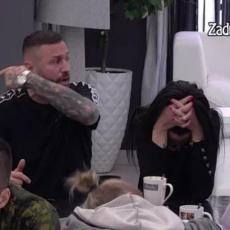 OSTAVITE MI ŽENU NA MIRU! Ša urlao na zadrugare, a onda je ustao Tomović i SVI ZANEMELI! (VIDEO)