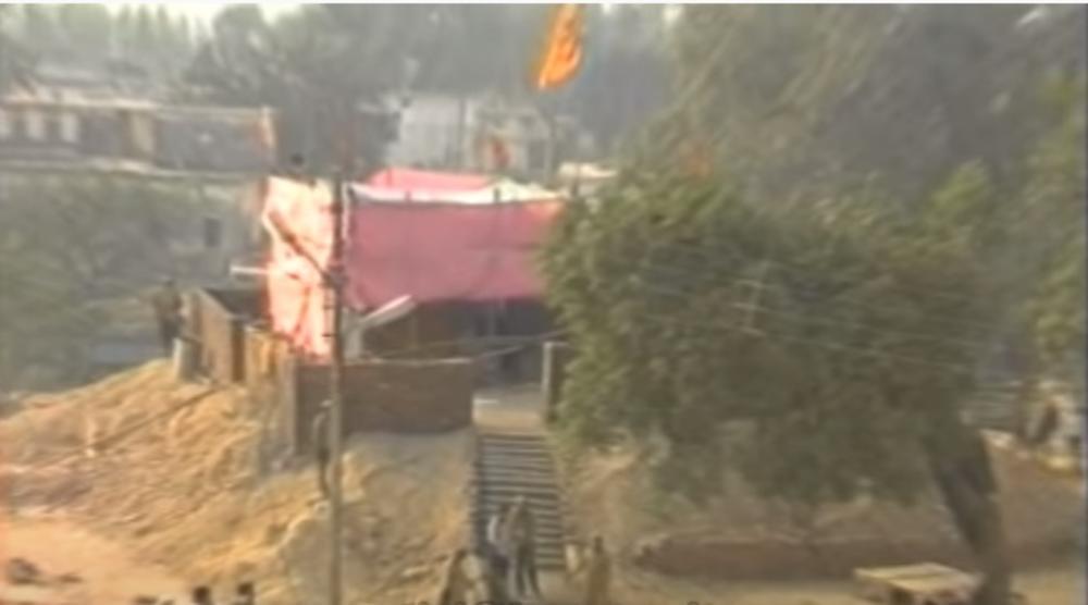 OSVETA ZA AJA SOFIJU: Evo kako je džamija porušena pre 30 godina postala hindiustički hram! (VIDEO)