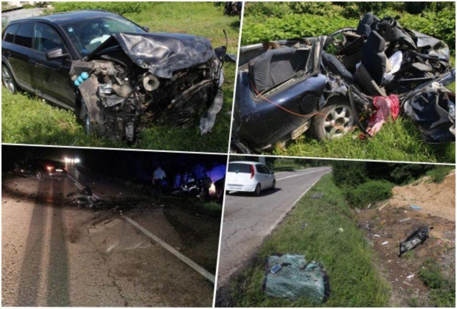 OTAC ZORAN U KOMI, ĆERKA (4) NA RESPIRATORU: U ovom automobilu je noćas stradala porodica Livjak, poginule majka i ćerka