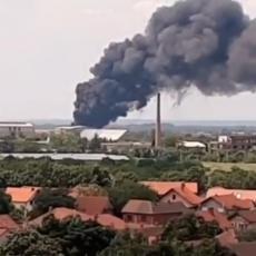 OTKRIVEN UZROK VELIKOG POŽARA U POŽAREVCU: Ministarstvo otkrilo da li postoji opasnost po stanovnike (VIDEO)
