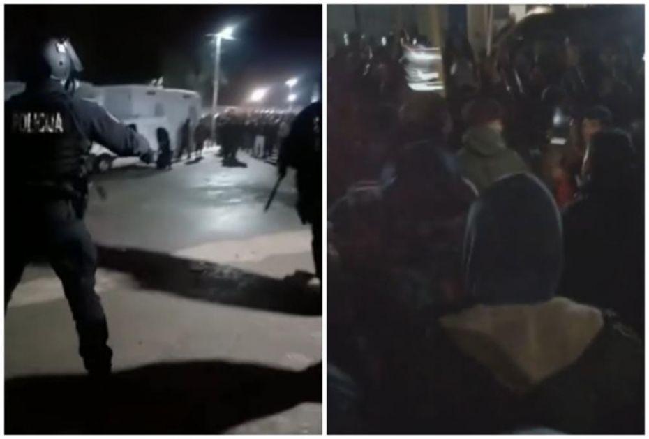 OTKRIVENI DETALJI SUKOBA U BLAŽUJU: Migrant uvredio proroka Muhameda, krenuo haos! Pogledajte snimke sukoba sa policijom (VIDEO)