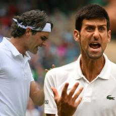 OTKRIVENO JE: Evo kojem se porazu Novaka obradovao Federer