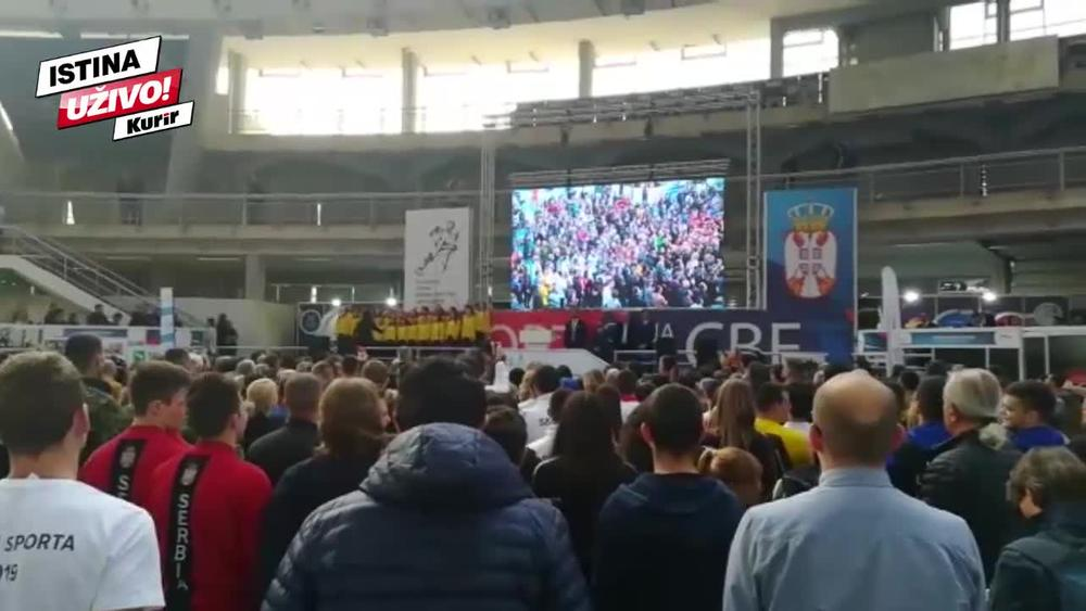 OTVOREN SAJAM SPORTA!Udovičić: Najlepše mesto u Srbiji! Svi zajedno možemo da pomeramo granice (KURIR TV)
