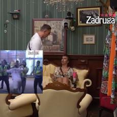 OVAKO JE POČELA HAVARIJA! Kristijan izbacuje Miljanu iz paba - cima je za ruku, pa ŠAMAR! (VIDEO)