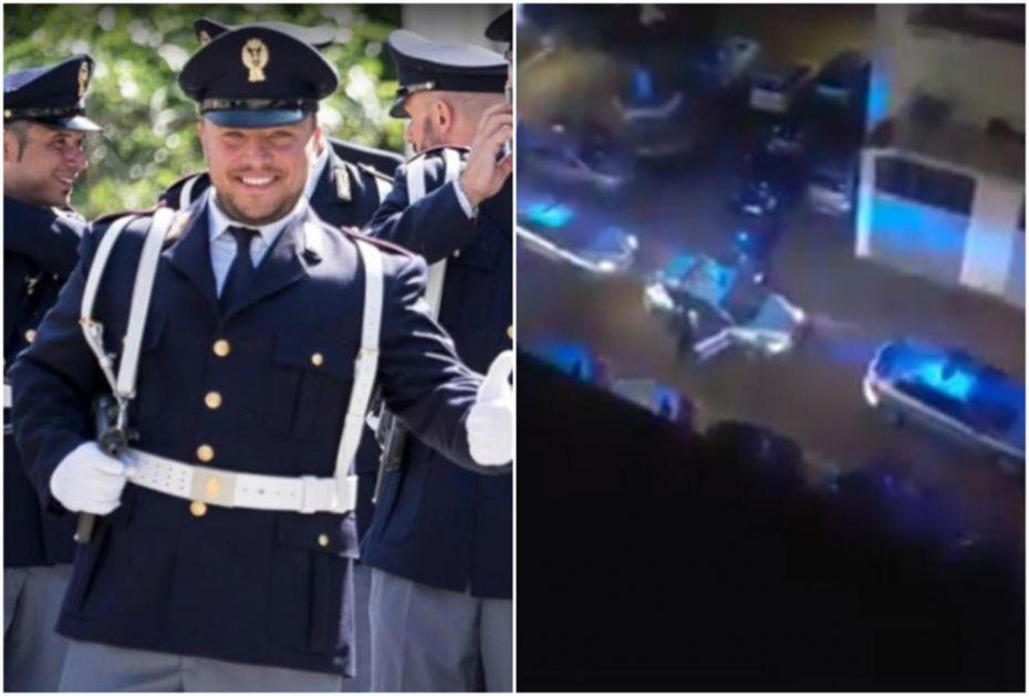 OVAKO SU POLICAJCI ODALI POČAST KOLEGI KOGA SU UBILA BRAĆA SA BALKANA: Sin plače, a komšije aplaudiraju (VIDEO)