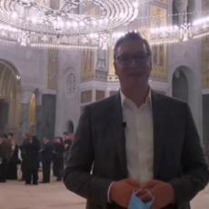 OVO ĆE BITI AJA SOFIJA, NEMAM REČI Vučić oduševljen velelepnim Hramom Svetog Save! NJEGOVA LEPOTA ISIJAVA (VIDEO)