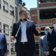 OVO ĆE BITI NAJVEĆA KARDIOVASKULARNA BOLNICA Vučić: Podižemo giganta, da budemo stub u regionu