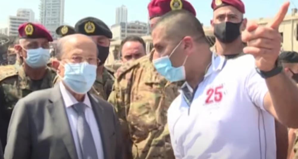 OVO JE DOKAZ DA SU LIDERI LIBANA ZNALI ZA BROD-BOMBU: Predsednik razbesneo novinare svojom izjavom