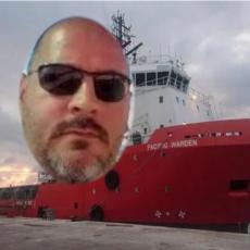 OVO JE SRBIN KOGA SU OTELI PIRATI: Aleksandar Terek kidnapovan je pri napadu na američki brod u Africi (FOTO)