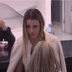OVO NIJE EMITOVANO NA TV-u! Maja se gušila u SUZAMA: Želim da ga pogledam u oči i... (VIDEO)