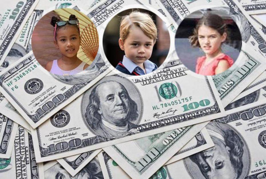 OVO SU NAJBOGATIJA DECA NA SVETU: Svi imaju slavne roditelje, a jedan dečak (6) već ima više od MILIJARDU DOLARA!