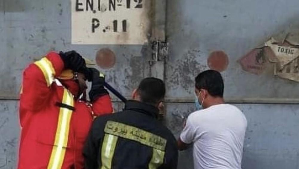 OVO SU PRAVI HEROJI BEJRUTA: Tim vatrogasaca je stigao u skladište trenutak pre eksplozije, svi su poginuli! (FOTO)