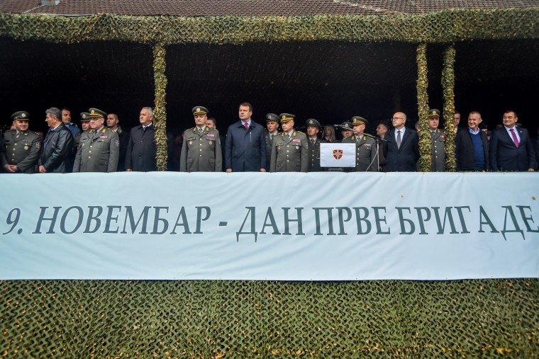 Obeležen Dan Prve brigade Kopnene vojske u Novom Sadu