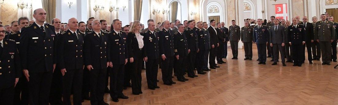 Obeležen Dan Univerziteta odbrane i Dan Inspektorata odbrane