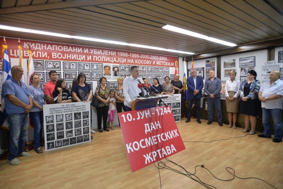 Obeležena 21. godišnjica otmice srpskih civila u Orahovcu