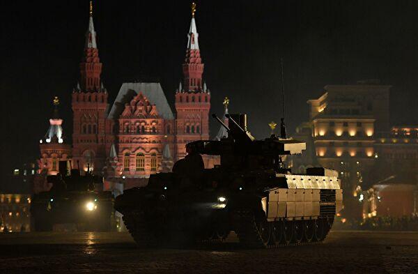 Proba Parade pobede u Mosvki