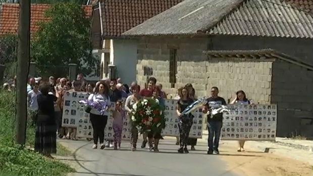 Obeležena godišnjica stradanja Srba i Roma u Orahovcu