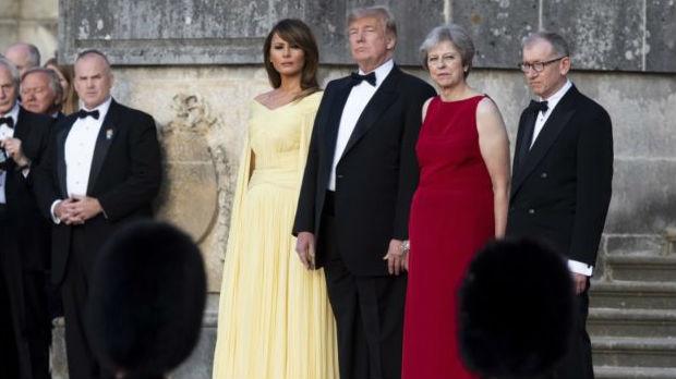 Obezbeđivanje Trampa koštalo Britaniju 18 miliona funti