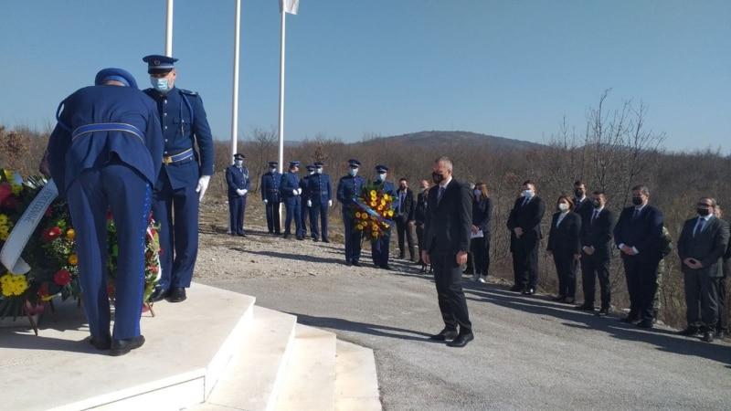 Obilježena 17. godišnjica pogibije Borisa Trajkovskog u blizini Mostara