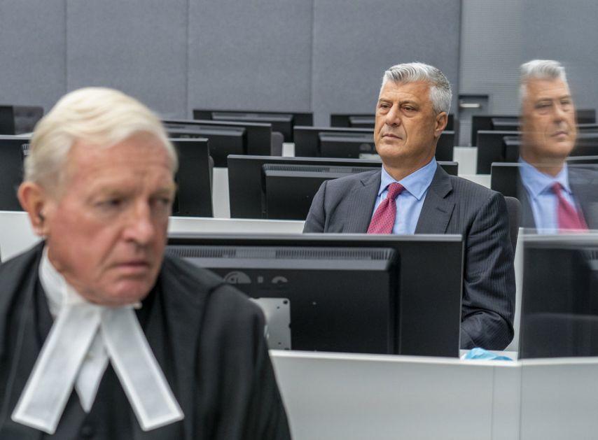 Objavljena odluka suda o potvrđivanju optužnice protiv Tačija