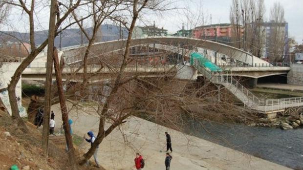 Uklonjen Park mira, počela obnova mosta u Kosovskoj Mitrovici