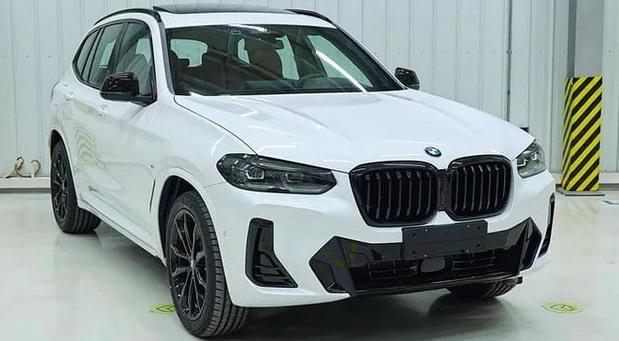 Obnovljeni BMW X3 bez maske