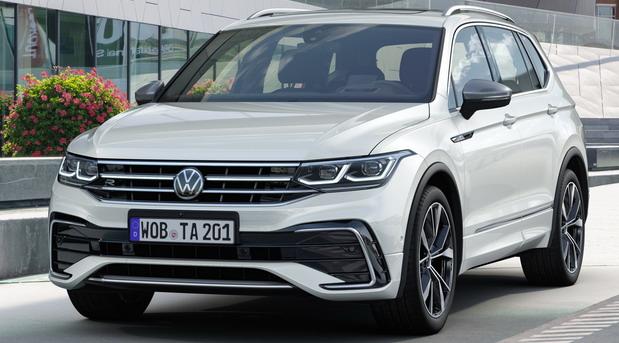 Obnovljeni Volkswagen Tiguan Allspace