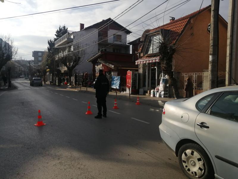 Oboren pešak u Karađorđevoj u Vranju