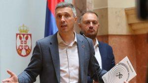 Obradović: Formiranjem Skupštine danas umire demokratija u Srbiji