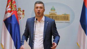 Obradović: Sa predstavnicima EP o pomeranju datuma izbora