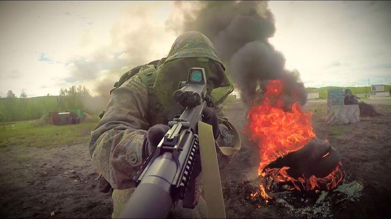 Obuka ruskih specijalnih snaga
