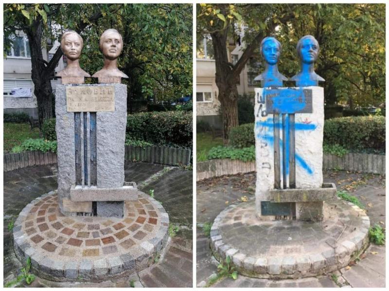 Očišćen spomenik sestrama Baković, u planu video nadzor
