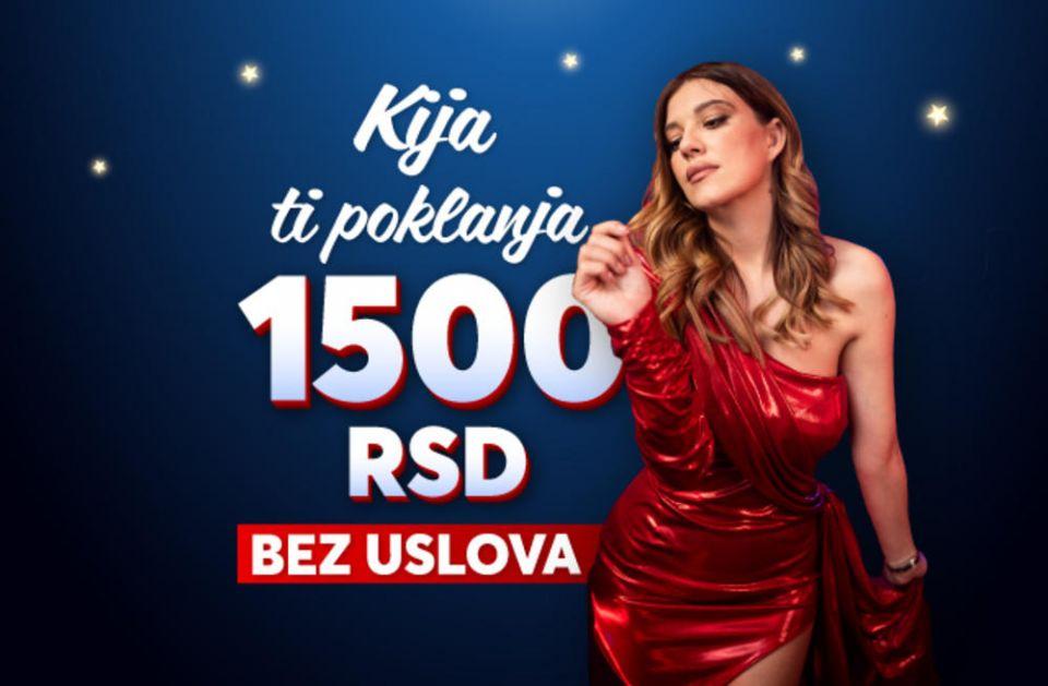 Od Kije Kockar i danas stiže NAJJAČI POKLON - 1.500 DINARA U KEŠU!