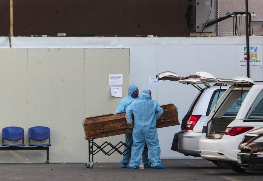 Od posledica infekcije korona virusa u Čileu umrlo VIŠE OD 1.000 LJUDI