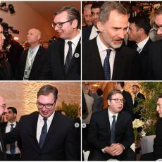 Od potpredsednika SAD do kralja Španije: Vučić se sastao sa brojnim svetskim liderima u Jerusalimu! (FOTO)