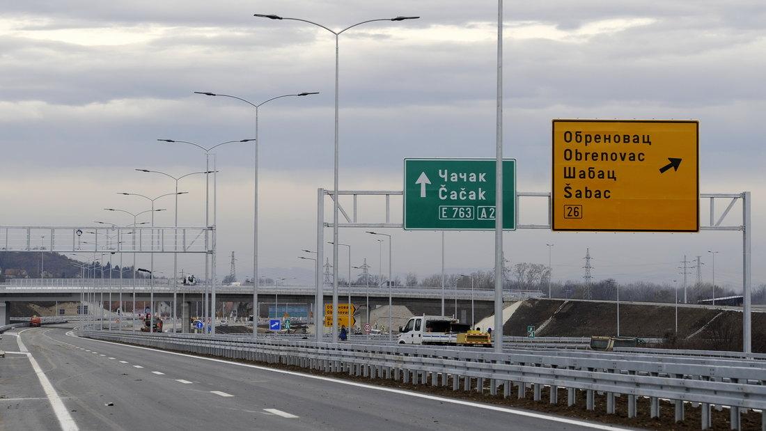 Od srede autoput spaja Beograd i Čačak