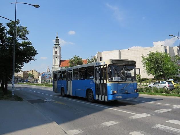 Od srede letnji red vožnje autobusa GSP-a, linija 13 menja trasu