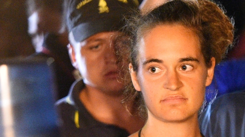 Odbačen slučaj protiv kapetanice Carole Rackete