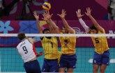 Odbojkaši Brazila bolji od SAD, Kanada sigurna protiv Venecuele